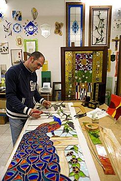 Vitrò glasswork, San Pietro Vernotico, Puglia, Italy