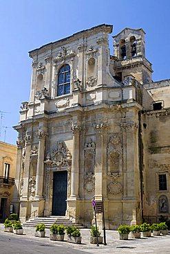 Santa Chiara church, Lecce, Puglia, Italy