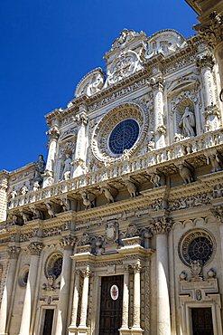 Santa Croce church, Lecce, Puglia, Italy