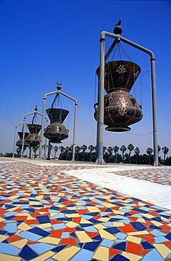 Modern art, Jeddah, Saudi Arabia, Middle East