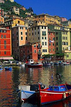 Foreshortening, Camogli, Ligury, Italy