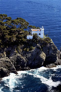 Lighthouse, Portofino, Ligury, Italy