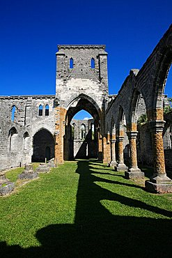 Unfinished gothic church, St. George's,  Bermuda, Atlantic Ocean, Central America