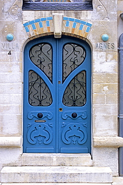 House where lived Georges Simenon, La Rochelle, France, Europe