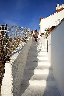 Typical architecture, Ponza Island, Pontine Islands, Lazio, Italy