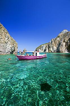 Palmarola island, Ponza Island, Pontine Islands, Lazio, Italy