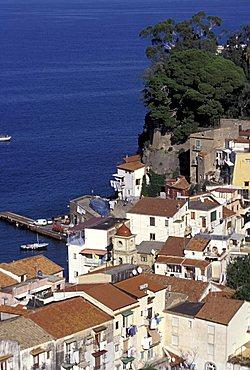 Cityscape, Sorrento, Campania, Italy