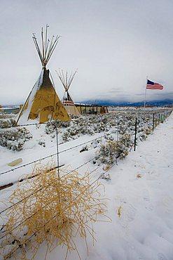 Landscape, New Mexico, United States of America, North America
