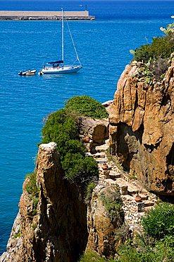 Capo Kalura cape, Cefalù, Sicily, Italy