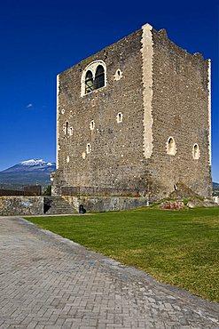 Norman Castle XII century, Paternò, Catania, Sicily, Italy, Europe
