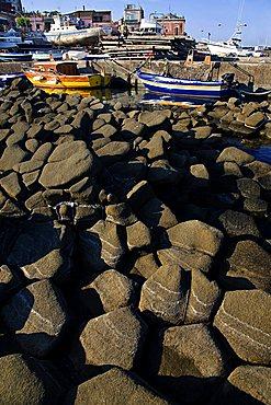 Aci Trezza Harbour, Catania, Sicily, Italy, Europe