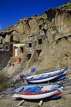Pollara coast, Salina Island, Messina, Italy, Europe