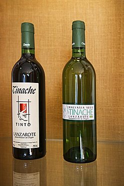 Local red and white wine, The Countryman House Museum, La Geria, Mozaga, Lanzarote, Canary Islands, Spain