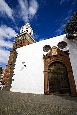 Nuestra Senora de Guadalupe church, Teguise, Lanzarote, Canary Islands, Spain