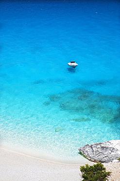 The beach of cala Goloritze, Orosei Gulf, Gennargentu and Orosei Gulf National Park, Sardinia, Italy, Europe