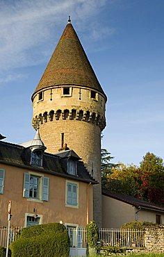 Tour Fabry, Cluny, Bourgogne, Burgundy, France, Europe