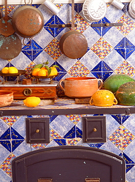 Kitchen, Ribera, Sicily, Italy