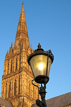 St. Mary's Cathedral, Salisbury, Wiltshire, England, Great Britain