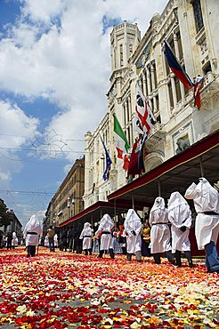 Cagliari, Ramadura, Sant'Efisio traditional event, the most important religious feast in Sardinia, Italy, Europe