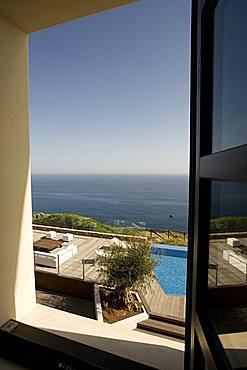 Window, Bed & Breakfast, Capo Spartivento light house, Sardinia, Italy, Europe
