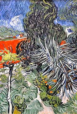 Dr. Gachet's Garden, Vincent Van Gogh, Musee d'Orsay, Paris, Ile-de-France, France, Europe