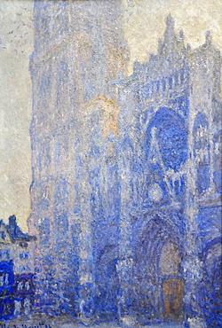 Rouen Cathedral, Claude Monet, Musee d'Orsay, Paris, Ile-de-France, France, Europe