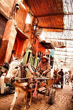 Medina, Marrakech, Morocco Medina, Marrakech, Morocco, North Africa