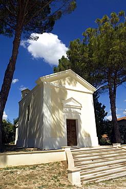Family Chapel, Cantine Scacciadiavoli, Montefalco, Umbria, Italy, Europe