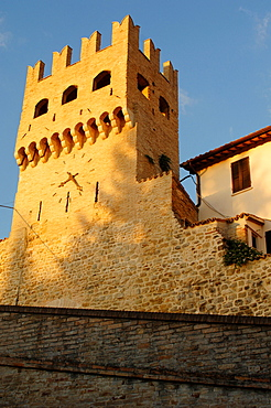 Torre del Verziere, Montefalco, Umbria, Italy, Europe