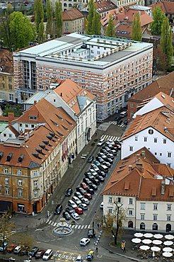 The University, Plecnik's most important building, Ljubljana, Slovenia, Europe