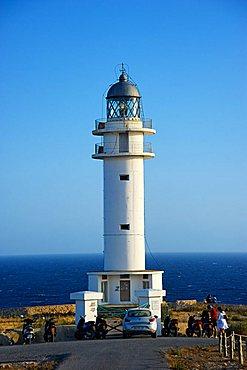 Lighthouse, Cap Barbaria, Formentera, Balearic Islands, Spain, Europe