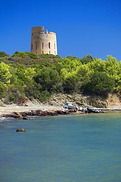 San Giovanni Tower, Sarrala, Tertenia, Provincia Ogliastra, Sardinia, Italy