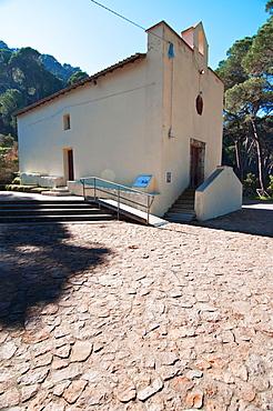 Nostra Signora del Carmine,  Rural Church, Villacidro, Medio Campidano Province, Sardinia, Italy, Europe