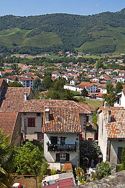 St. Jean Pied de Port, Basque country, Pyrenees-Atlantiques, Aquitaine, France, Europe