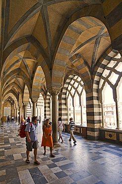 Amalfi Cathedral, Cattedrale di Sant'Andrea, Amalfi, Campania, Italy, Europe