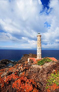 Lighthouse, Punta Gavazzi, Ustica, Ustica island, Sicily, Italy