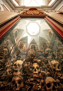 Cathedral, ossuary, Beati Martiri Indrutini, Otranto, Salento, Apulia, Italy, Europe