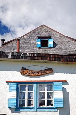 Ciampedie hut, Fassa valley, Trentino Alto Adige, Italy, Europe