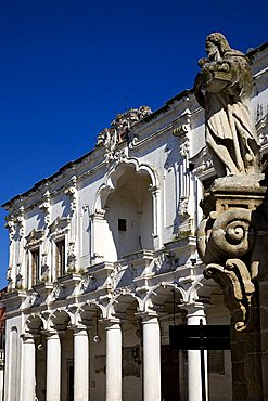 Town hall, Palazzo di Cittvì, Nard'Äó, Salento, Apulia, Italy