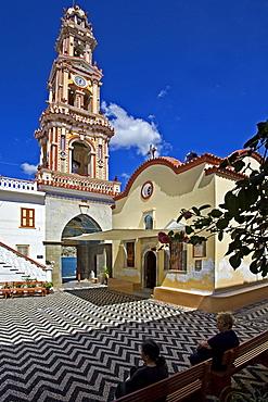 Panormitis Monastery, Symi Island, Dodecanese, Greek Islands, Greece, Europe