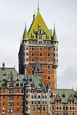 Fairmont Le Chateau Frontenac hotel, Quebec City, Capitale-Nationale, Quebec, Canada, North America
