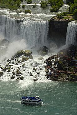 Bridal Veil Falls, Niagara Falls, Ontario, Canada, North America