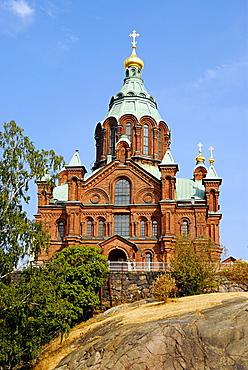 Uspenski Cathedral, Helsinki, Uusimaa, Finland, Scandinavia, Europe