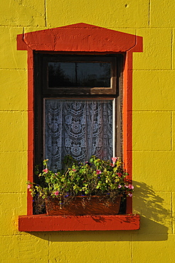 Houses, Kinvarra, West Coast, County Galway, Republic of Ireland, Europe
