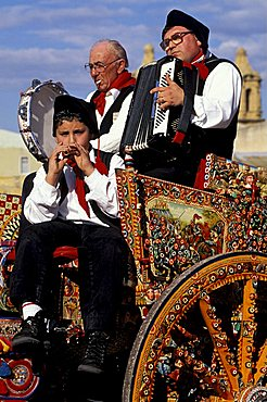 Sagra del mandorlo in fiore, Agrigento, Sicily, Italy