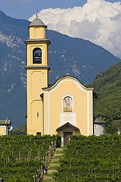 san sebastian church, bellinzona, switzerland