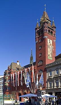 rathaus, basel, switzerland