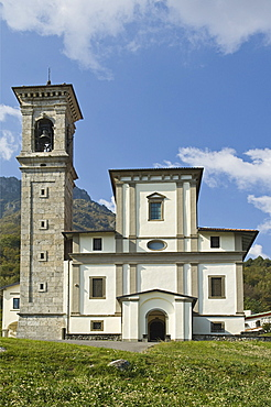 madonna della torre sanctuary, sovere, italy