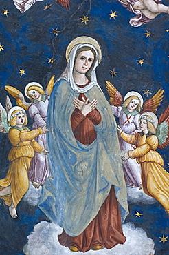 santa maria assunta in borgo church, nembro, italy