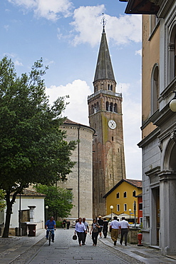 historical centre, portogruaro, italy